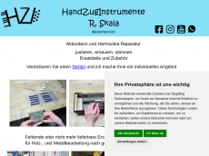 Screenshot der Domain hzi-skala.de