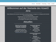 Screenshot der Domain hzweio-jena.de