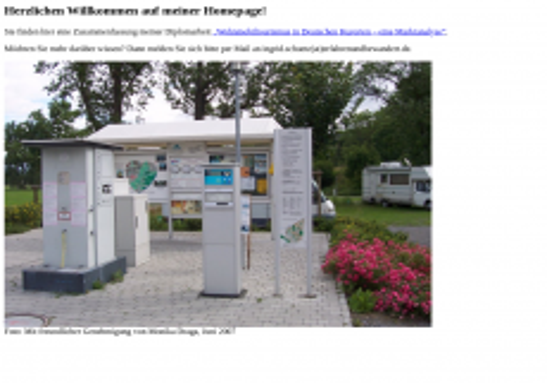 Screenshot der Domain i-schuetz.de