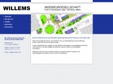 Screenshot der Domain ib-willems.de