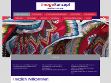 Screenshot der Domain imagekonzept.de