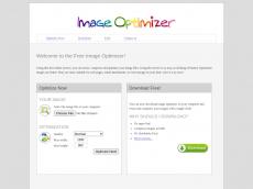 Screenshot von imageoptimizer.net
