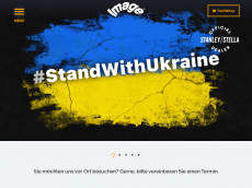Screenshot der Domain imageshirt.de