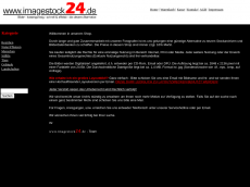 Screenshot der Domain imagestock24.de