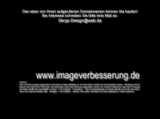 Screenshot der Domain imageverbesserung.de