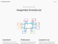 Screenshot der Domain imagevideo-erstellen.de