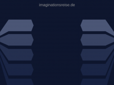 Screenshot der Domain imaginationsreise.de