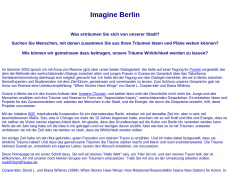 Screenshot von imagineberlin.org