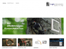 Screenshot der Domain imaginemediaproductions.de