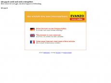 Screenshot der Domain info-gap.de