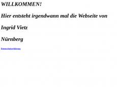 Screenshot der Domain ingridvietz.de