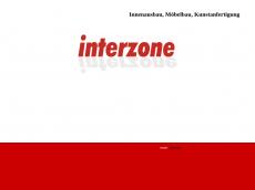 Screenshot der Domain interzone-berlin.de