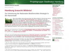 Screenshot der Domain isebek-initiative.de
