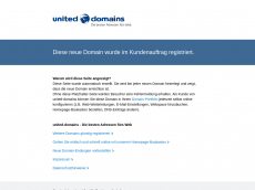 Screenshot der Domain isecc.de