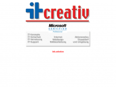 Screenshot der Domain itcreativ.de