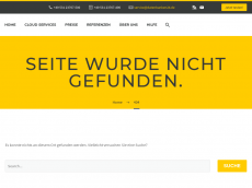 Screenshot der Domain itdata24.de