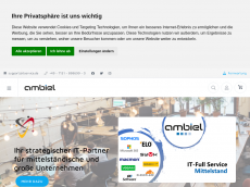 Screenshot der Domain itdemocenter.de