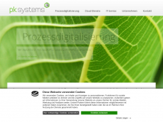 Screenshot der Domain itdrivenvalue.de