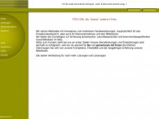 Screenshot der Domain itdv-sm.de