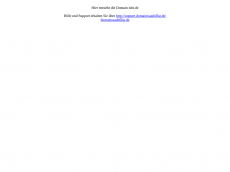 Screenshot der Domain itdx.de