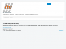 Screenshot der Domain ite-management.de