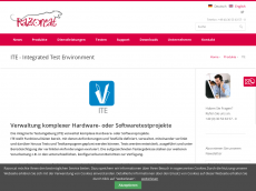 Screenshot der Domain ite-plattform.de