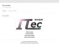 Screenshot der Domain itec-gmbh.info