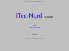 Screenshot der Domain itec-nord.de