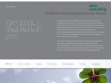 Screenshot der Domain itech-consulting.de