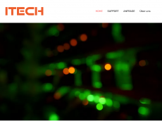 Screenshot der Domain itech-partner.com