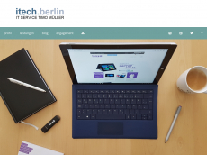 Screenshot der Domain itech-webhosting.de