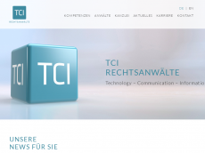 Screenshot der Domain itechlawyer.de
