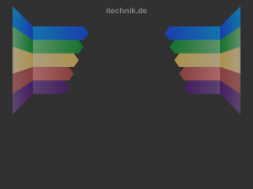 Screenshot der Domain itechnik.de