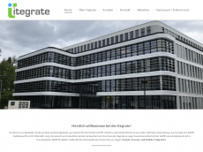 Screenshot der Domain itegrate.de
