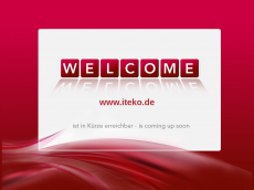 Screenshot der Domain iteko.de
