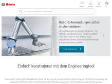 Screenshot der Domain item24.de
