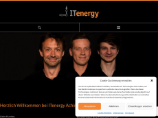 Screenshot von itenergie.de
