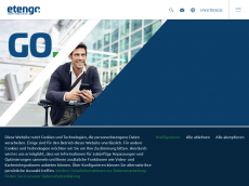 Screenshot der Domain itengo.de