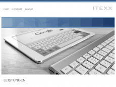 Screenshot der Domain itexx.com