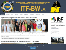 Screenshot der Domain itf-bw.de