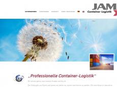 Screenshot der Domain jam-container.de