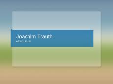 Screenshot der Domain joachimtrauth.de