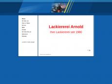 Screenshot der Domain lackiererei-arnold.de