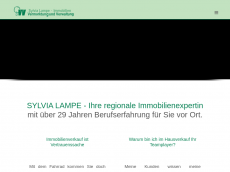 Screenshot der Domain lampe-immobilien.de