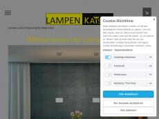 Screenshot der Domain lampen-kaiser.de