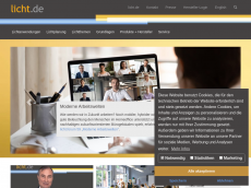 Screenshot der Domain lampen-recycling.de