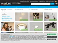 Screenshot der Domain lampen1fachschoen.de