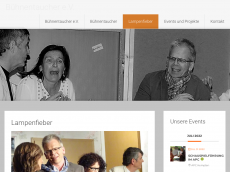Screenshot der Domain lampenfieber-kempten.de