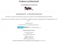 Screenshot von lampenpreise.de