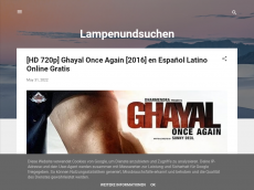Screenshot der Domain lampenundsuchen.blogspot.com